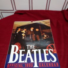 Catálogos de Música: THE BEATLES. OFFICIAL 1993 CALENDAR.. Lote 219460832