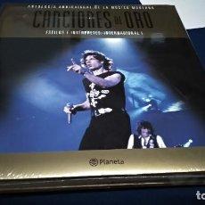 Catálogos de Música: LIBRO(ANTOLOGÍA AUDIOVISUAL DE LA MÚSICA MODERNA.CANCIONES DE ORO Nº 1)2005 PLANETA NUEVO PRECINTADO. Lote 219753970