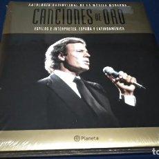 Catálogos de Música: LIBRO(ANTOLOGÍA AUDIOVISUAL DE LA MÚSICA MODERNA.CANCIONES DE ORO Nº 3)2005 PLANETA NUEVO PRECINTADO. Lote 219754860