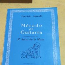 Catálogos de Música: METODO DE GUITARRA DIONISIO AGUADO PERFECTO ESTADO. Lote 220428190