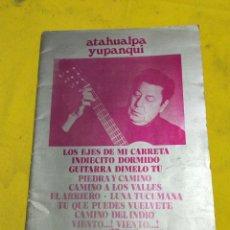 Catálogos de Música: ATAHUALPA YUPANQUI NÚMERO 20. Lote 220431986