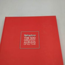 Catálogos de Música: ROLLING STONES 500 GREATEST ALBUMS OF ALL TIME. Lote 220941865