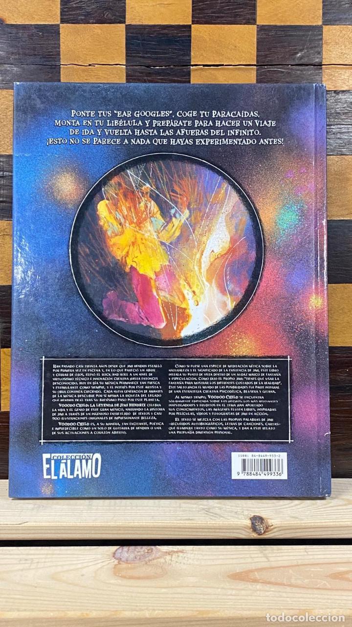 Catálogos de Música: Libro Comic Voodoo Child: La Leyenda de Jimi Hendrix - Martin I. Green & Bill Sienkiewicz Tapa Dura - Foto 3 - 220966381