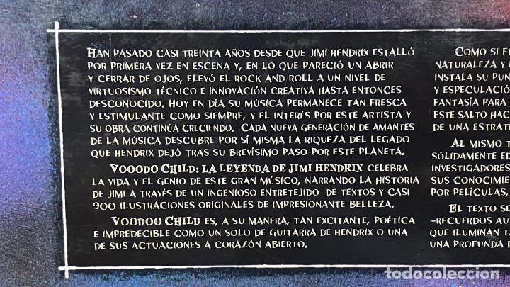 Catálogos de Música: Libro Comic Voodoo Child: La Leyenda de Jimi Hendrix - Martin I. Green & Bill Sienkiewicz Tapa Dura - Foto 4 - 220966381