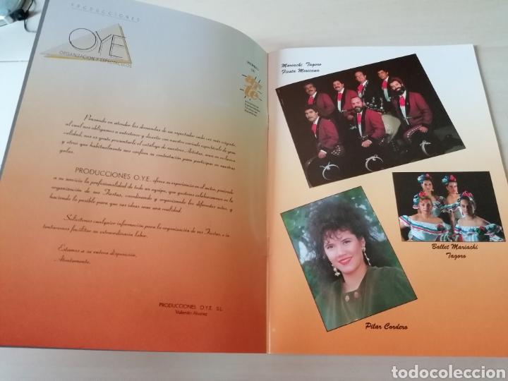 Catálogos de Música: Antiguo catálogo de PRODUCCIONES OYE - Organización y espectáculos - 1991 - Foto 2 - 221464208