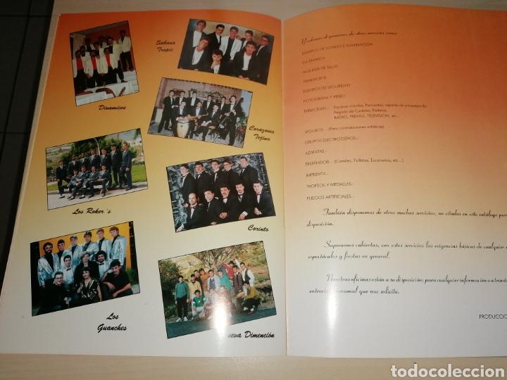 Catálogos de Música: Antiguo catálogo de PRODUCCIONES OYE - Organización y espectáculos - 1991 - Foto 8 - 221464208