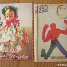 Catálogos de Música: LOTE DE DOS REVISTAS BOLETIN INFORMATIVO DISCOPLAY BID. Lote 221638595