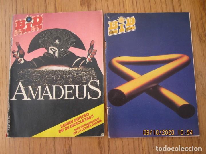 LOTE DE DOS REVISTAS BOLETIN INFORMATIVO DISCOPLAY BID (Música - Catálogos de Música, Libros y Cancioneros)