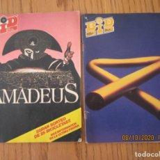 Catálogos de Música: LOTE DE DOS REVISTAS BOLETIN INFORMATIVO DISCOPLAY BID. Lote 221638645