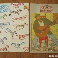 Catálogos de Música: LOTE DE DOS REVISTAS BOLETIN INFORMATIVO DISCOPLAY BID. Lote 221638807