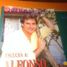 Catálogos de Música: ALFONSO PAHINO - DOSSIER OFICIAL 8 PÁGINAS. Lote 221732785