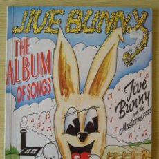 Catálogos de Música: JIVE BUNNY & THE MASTERMIXERS : ALBUM OF SONGS (PARTITURAS) - EDICION AUSTRALIA 1990 EMI MUSIC. Lote 221812787