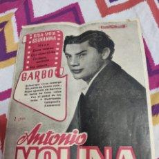 Catálogos de Música: GARBO ANTONIO MOLINA. Lote 221839072