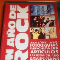 Catálogos de Música: ¡UN AÑO DE ROCK! ERISA 1992. Lote 221955128