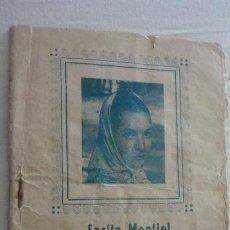 Catálogos de Música: ANTIGUO CANCIONERO.SARA MONTIEL.EL ULTIMO CUPLE.PAPELERIA CALLAJI.CORDOBA AÑOS 50. Lote 222291776