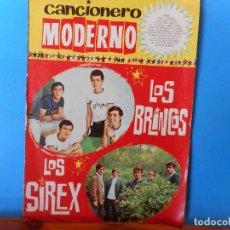 Catálogos de Música: LOS BRINCOS AHORA INTERNACIONALES. LOS SIREX. BAILA LA PULGA. CANTEMOS. CANCIONERO MODERNO.. Lote 222301787