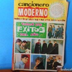 Catálogos de Música: TODOS LOS ÉXITOS DEL AÑO. UNA CHICA YE-YE. LA ESCOBA. CANCIONERO MODERNO.. Lote 222301872