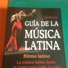 Catálogos de Música: GUÍA DE LA MÚSICA LATINA - ED MORALES - MA NON TROPPO EDITORIAL. Lote 222413923