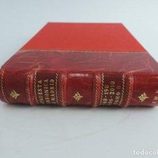 Catálogos de Música: TOMO ENCUADERNADO CON PROGRAMAS DE LA ORQUESTA SINFONICA DE MADRID, TEATRO REAL, DEL NUM. 168 AL 198. Lote 222493933