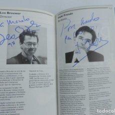 Catálogos de Música: TOMO ENCUADERNADO CON PROGRAMAS DE LA ORQUESTA RTVE, DEL NUM. 675 AL 703, AÑO 1997 / 98, CON MUCHISI. Lote 222495135
