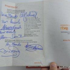 Catálogos de Música: TOMO ENCUADERNADO CON PROGRAMAS DE LA ORQUESTA RTVE, DEL NUM. 1154 AL 1245, AÑO 2012 / 2014, CON MUC. Lote 222495892