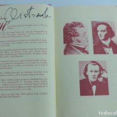 Catálogos de Música: TOMO ENCUADERNADO CON PROGRAMAS DE LA ORQUESTA SINFONICA DE MADRID, DEL NUM. 1 AL 41, TEMPORADAS 199. Lote 222497411