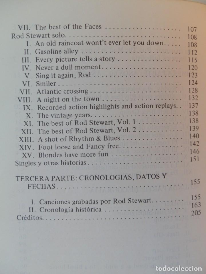 Catálogos de Música: ROD STEWART SUPERSTAR. JORDI SIERRA Y FABRA. TEOREMA S.A. Colección música de nuestro tiempo. - Foto 5 - 222683190