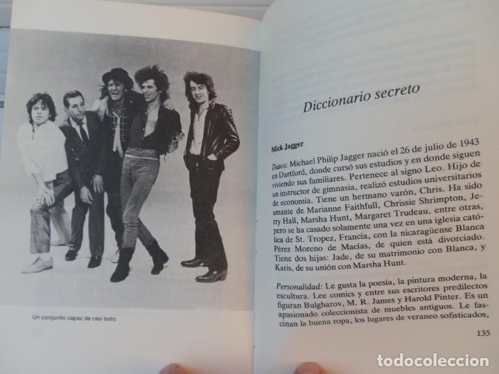 Catálogos de Música: The Rolling Stones: sexo, drogas y rock n roll. Alan Turner, IDOLOS POP Nº 3. MARTÍNEZ ROCA, 1983 - Foto 3 - 222686117