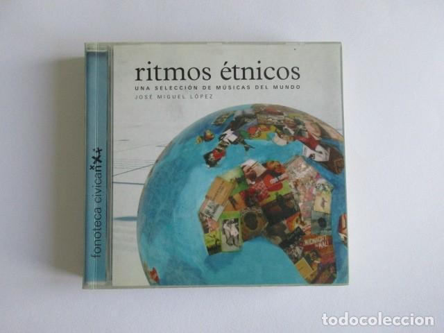 RITMOS ETNICOS, UNA SELECCIÓN DE MÚSICAS DEL MUNDO, FONOTECA CIVICAN, JOSE MIGUEL LOPEZ (Música - Catálogos de Música, Libros y Cancioneros)