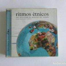 Catálogos de Música: RITMOS ETNICOS, UNA SELECCIÓN DE MÚSICAS DEL MUNDO, FONOTECA CIVICAN, JOSE MIGUEL LOPEZ. Lote 223144572