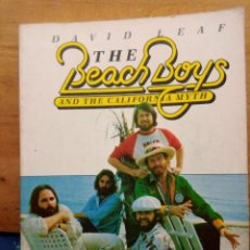 Catalogues de Musique: THE BEACH BOYS AND THE CALIFORNIA MYTH.DAVID LEAF. Lote 223649818
