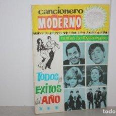 Catálogos de Música: CANCIONERO MODERNO. TODOS LOS ÉXITOS DEL AÑO 1964.. Lote 223656852