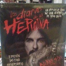 Cataloghi di Musica: NIKKI SIXX.LOS DIARIOS DE LA HEROÍNA.(10° ANIVERSARIO).ES POP EDICIONES. Lote 246008235