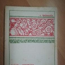 Catálogos de Música: EUZKEL ABESTIJAK. EUZKELTZALE. BILBAO 1931.. Lote 225832410
