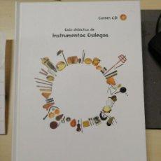 Cataloghi di Musica: GUÍA DIDÁCTICA DE INSTRUMENTOS MUSICALES GALEGOS. MOISÉS QUINTAS SUÁREZ. Lote 227067766