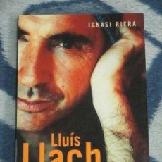 Catálogos de Música: IGNASI RIERA, LLUIS LLACH COMPANYS NO ES AIXO, ROSA DELS VENTS. Lote 227699207