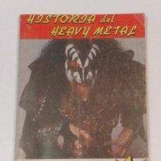 Catálogos de Música: HISTORIA DEL HEAVY METAL - EL BRAZO ARMADO DEL ROCK - ED. HERAS 1985 - MAURIS ESTEBAN. Lote 228628780