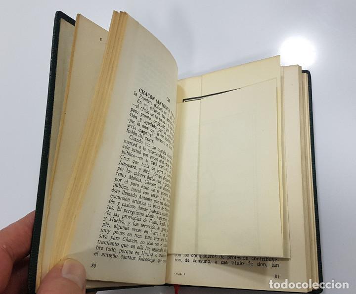 Catálogos de Música: EL CANTE FLAMENCO, Guía Alfabética. Julián Pemartín. 1966 (láminas,encarte). Muy buen estado - Foto 6 - 229023080
