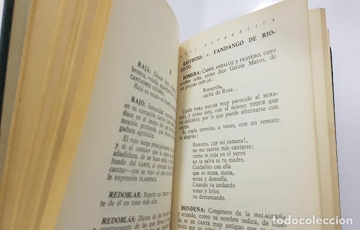 Catálogos de Música: EL CANTE FLAMENCO, Guía Alfabética. Julián Pemartín. 1966 (láminas,encarte). Muy buen estado - Foto 8 - 229023080