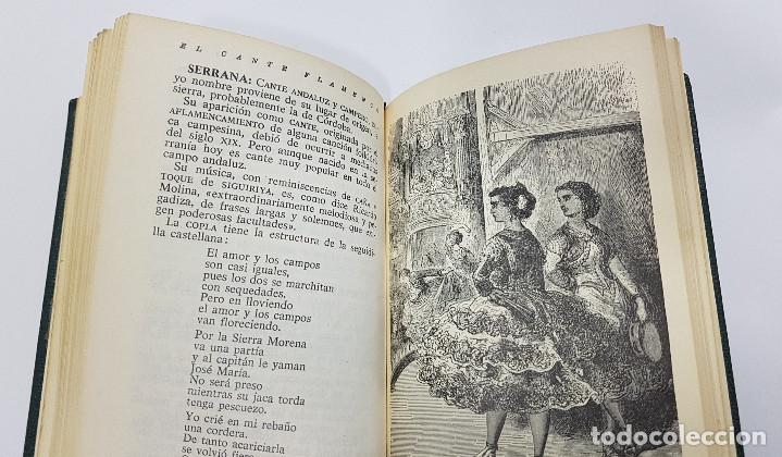 Catálogos de Música: EL CANTE FLAMENCO, Guía Alfabética. Julián Pemartín. 1966 (láminas,encarte). Muy buen estado - Foto 12 - 229023080