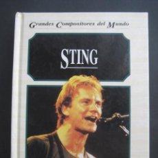 Catálogos de Música: LIBRO STING. AÑO 1995. Lote 230632225