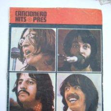 Catálogos de Música: THE BEATLES - CANCIONERO HITS PRES - 1970 13 CANCIONES TRADUCIDAS AL ESPAÑOL. Lote 230954295