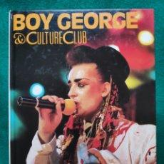 Catálogos de Música: BOY GEORGE BANDA MUSICAL GLAM LIBRO FOTOGRAFÍA. Lote 231611250