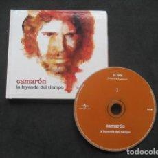 Catálogos de Música: CAMARON LA LEYENDA DEL TIEMPO. LIBRO + CD. EL PAIS 2008. Lote 232258055