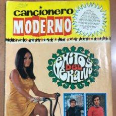 Catálogos de Música: CANCIONERO MODERNO EXITOSO DEL VERANO RAPHAEL VÍCTOR MANUEL LOS MÓDULOS,MISMOS,GRITOS,KARINA. Lote 232767910