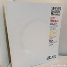 Catálogos de Música: CATALOGO ABAO, BILBAO OPERA, 2019-2020, 68 TEMPORADA, MUSICA / MUSIC, ABAO BILBAO OPERA, 2019. Lote 233239295