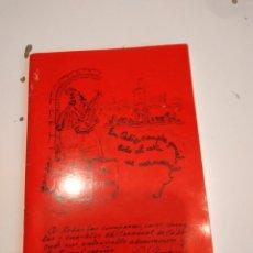 Catálogos de Música: M-3 LIBRO LIBRETO MIS COPLAS 1989 CARNAVAL DE CADIZ. Lote 233659880