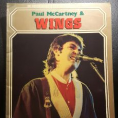 Catálogos de Música: PAUL MCCARTNEY - BEATLES - PAUL MCCARTNEY & WINGS - LIBRO TAPA BLANDA - HOLANDA - 1978 - NO CORREOS. Lote 233717055