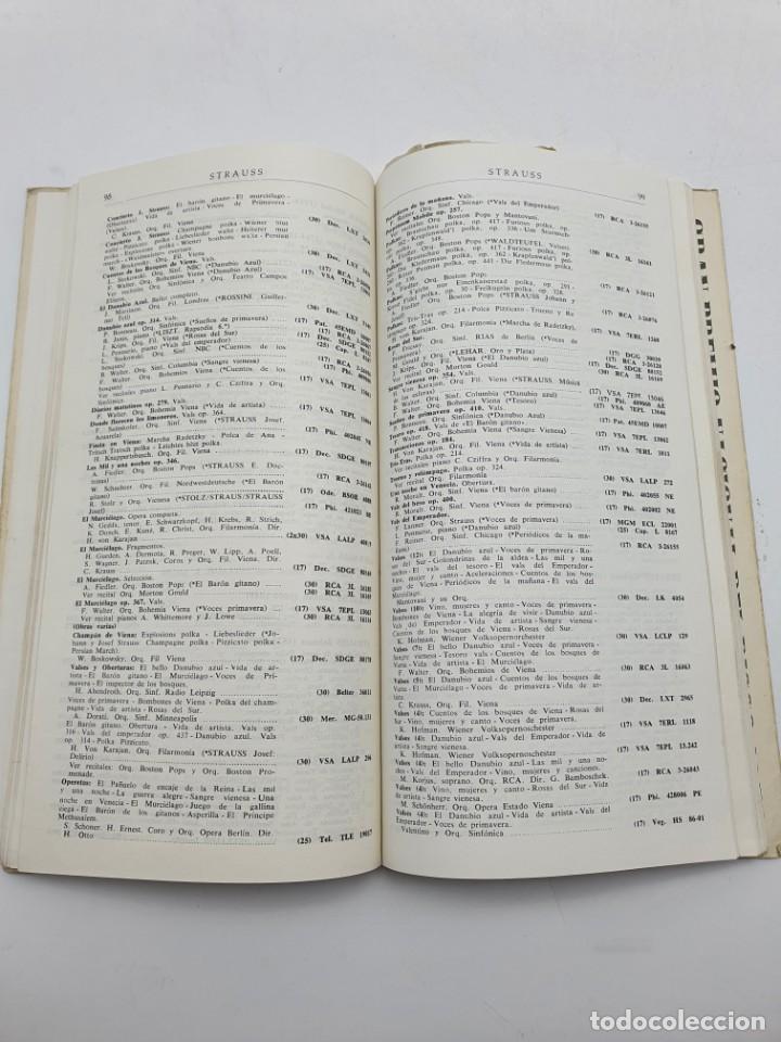 Catálogos de Música: LOS DISCOS MICROSURCO ( AÑO 1959 ) CATÁLOGO GENERAL - Foto 6 - 234920310