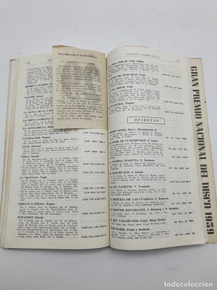 Catálogos de Música: LOS DISCOS MICROSURCO ( AÑO 1959 ) CATÁLOGO GENERAL - Foto 7 - 234920310